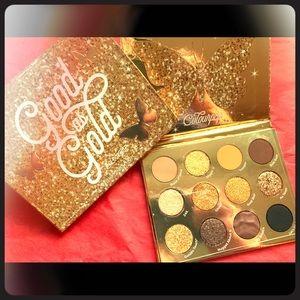 ⭐️NIB Colourpop Good as Gold palette